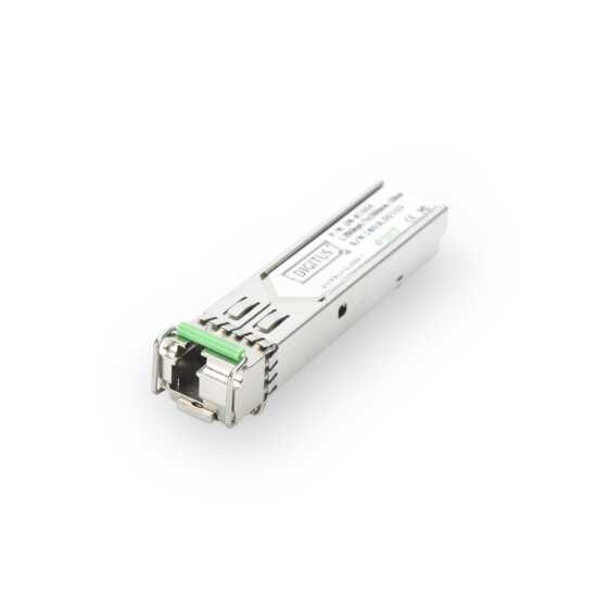 1.25 Gbps BiDi WDM SFP Module - Unterputz to 20km with DDM support - Singlemode - LC Simplex Connector 1000Base-LX - Tx1550nm/Rx1310nm