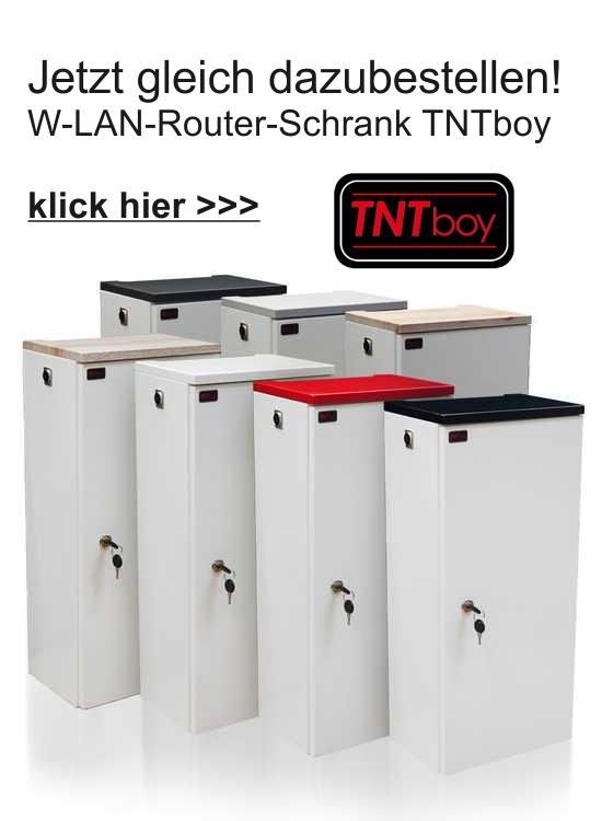 TNTboy - W-LAN Router Schrank